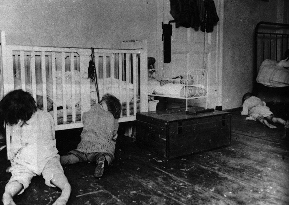 Massensuizid im Kinderheim