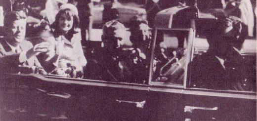 Der Kennedy-Clan wenige Sekunden vor dem Attentat