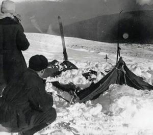 Das Zelt beim Auffinden | Foto: gemeinfrei