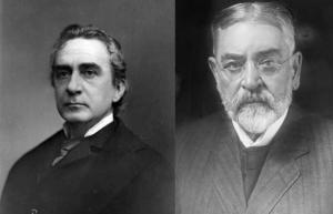 Edwin Booth und Robert Todd Lincoln