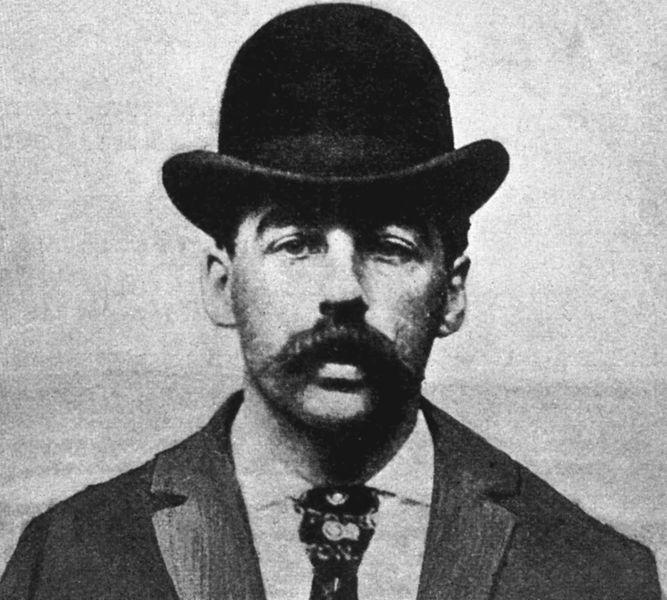 Der Serienmörder H. H. Holmes | Foto: gemeinfrei