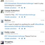 Die Suche nach der Blue Whale Challenge bei Twitter | Foto: Screenshot