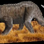 Emela-ntouka, ein angeblicher Dinosaurier | Bild: Tim Bertelink