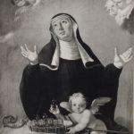 Sv. Valburga, Gemälde von Anton Cebej